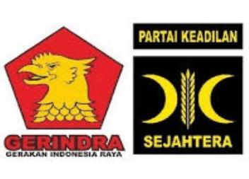 logo partai Gerindra - PKS