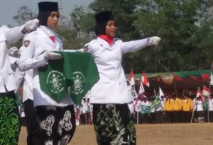 Sako Maarif NU Lampung Timur Peringati Hari Santri