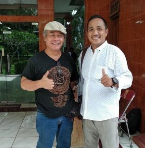 Riko Amir Pimpin Iwo (Ikatan Wartawan Online) Lampung