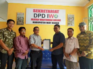 Jelang Pilkada, KPU – IWO Way Kanan Jalin Koordinasi