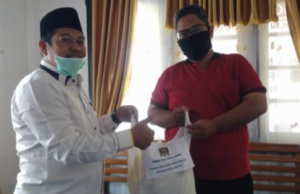 Top! Fraksi PKS DPRD Metro Potong Gaji Untuk Warga Terimbas Corona