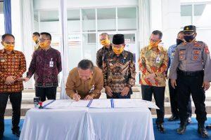 Asiik! Tempati Kantor Baru, Bank Lampung Simpang Pematang Komitmen Untuk Manjakan Nasabah Mesuji