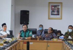 Kunker ke DPRD DKI, Komisi III DPRD Lampung Sharing Pengelolaan BUMD