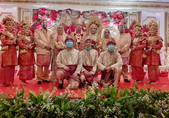 Reza – Githa Menikah, Selamat Menempuh Hidup Baru!