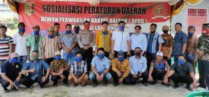 Anggota DPRD Lampung Sosialisasikan Perda Rembuq Desa di Pasir Sakti, Lampung Timur