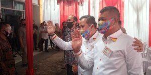 Usai Bersinar, Paslon Dendi – Marzuki Daftar ke KPU Pesawaran