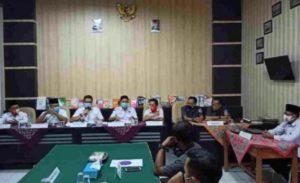 Verifikasi Persyaratan Calon Kada, KPU Way Kanan Gelar Rapat Pleno