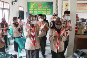 Riana Sari Arinal Buka Orientasi Kepramukaan Satker di Pringsewu