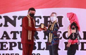 Wagub Lampung Dampingi Menpan RB Resmikan Mal Pelayanan Publik di Tulang Bawang