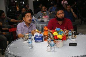 Chrisna Putra Tonton Debat Kandidat Bupati dan Wakil Bupati Pesisir Barat