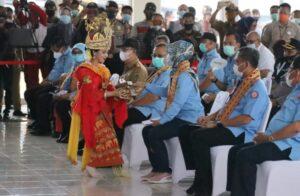Dampingi Mensos Kukuhkan Pelopor Perdamaian 2020 di Mesuji, Chusnunia Harapkan Suasana Kondusif di Lampung
