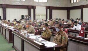 Arinal Pimpin Rakor Pelaksanaan Covid-19 Lampung