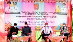 Maksimalkan Pembangunan Lampung Barat, Parosil Mabsus Serap Aspirasi Lewat Musrenbang