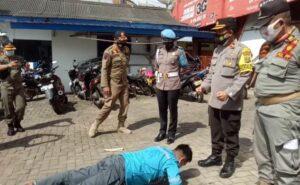 Masyarakat Mulai Tertib, Operasi Yustisi di Talang Padang 150 Pelanggar Ditindak Satgas Covid-19