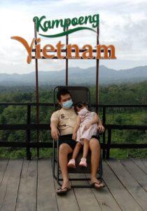 Ada Kampung Vietnam Loh di Lampung! Lokasinya Cocok buat Santuy Bareng Keluarga