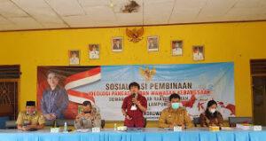 Condrowati Sosialisasikan Ideologi Pancasila di Karta Raharja