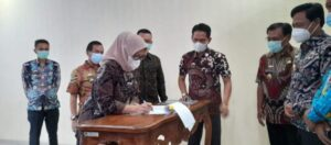 Pemkab Lampung Selatan Teken PKS dengan Bank Lampung