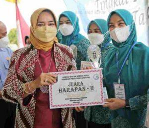 Riana Buka Lomba Masak di PKK Agropark Lampung