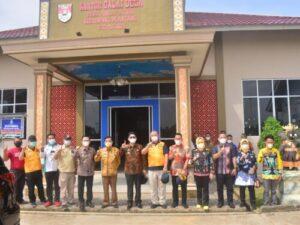 Tim Monitoring Covid-19 Lampung Sambangi Desa Mulya Agung, Mesuji