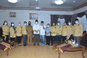 Anggota DPRD Lampung Asal Dapil VII Sambangi Bupati Lamteng Musa Ahmad di Nuwo Balak