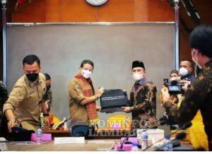 Kembangkan Wisata, Bupati Lampung Barat Audiensi dengan Menteri Pariwisata dan Ekonomi Kreatif