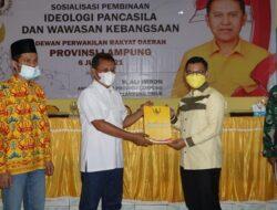 Sosialisasikan Ideologi Pancasila, Ali Imron Sambangi Warga Lampung Timur