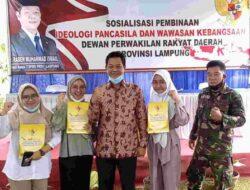 Raden Muhammad Ismail Sosialisasikan PIP dan Wawasan Kebangsaan di Natar