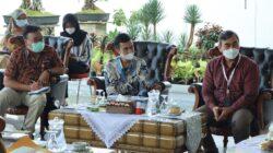 Gubernur Lampung Sambut PT Telkom Witel Lampung di Mahan Agung