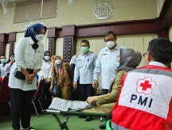 PMI dan Pemprov Lampung Luncurkan Gerakan Siger Donor Darah
