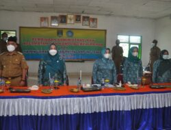 Ketua TP PKK Lampung Tengah Lakukan Pembinaan Administrasi PKK Kecamatan dan Kampung