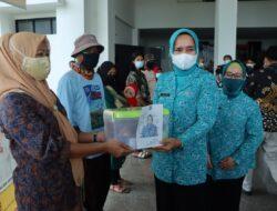 Peringati Hari Bhayangkara, Diana Sari Tinjau Pelaksanaan Kegiatan Donor Darah