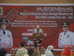 Sekda Lampung Buka Musrenbang RPJMD Kota Bandar Lampung