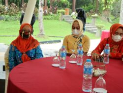 Ketemu Pengurus Dharma Wanita, Riana Sari harapkan kerjasama
