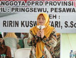 Sosialisasikan PIP, Wakil Ketua DPRD Sambangi Fajar Isuk