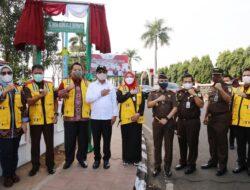 Gubernur, Ketua DPRD dan Kajati Lampung Abadikan Nama Jaksa Agung Sebagai Nama Jalan