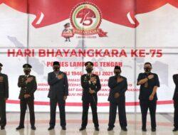Musa Ahmad Ikuti Upacara HUT Bhayangkara Secara Virtual