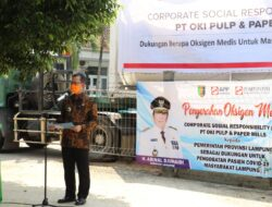 Asiiik….Pemprov Lampung Dapat Bantuan Oksigen Cair dari Sinar Mas