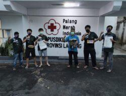 Kaum Muda Kasih Bantuan Alkes untuk PMI Lampung