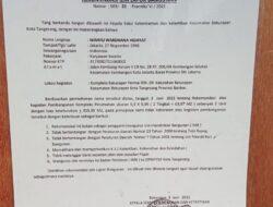 Demi Muluskan Perizinan, Kasie Trantib Diduga Palsukan Tandatangan Camat BatuCeper
