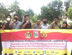 Iwan Dharmawan Ajak Pejuang Siliwangi Indonesia Lampung Timur Himbau Masyarakat Taat Prokes
