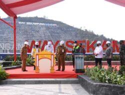 Resmikan Bendungan Way Sekampung, Gubernur Lampung Dampingi Presiden