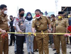Didampingi Bupati, Gubernur Lampung Launching e-Samdes, L-Smart dan Desa Mart di Lampung Tengah