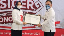 HUT PMI ke-76, Riana Sari Arinal Resmikan Gerai Donor Darah