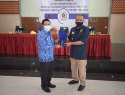 Minhairin Lantik Pengurus DPD AWPI Provinsi Lampung