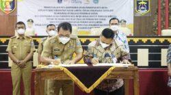Optimalisasi Penerimaan PAD, Bank Lampung – Pemkot Metro Teken MoU