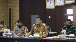 Musa Ahmad Pimpin Rapat Evaluasi Vaksinasi Lampung Tengah
