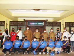 Walikota Metro Lepas Kontingen ke PON XX Papua