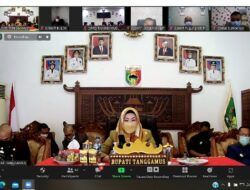 Bupati Ikuti Rapat Paripurna DPRD Tanggamus, Bahas Tiga Agenda Utama