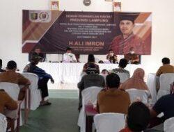 Ali Imron Sosper di Brajakencana, Lampung Timur