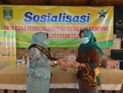 Bunda Literasi Lamteng Buka Pengelolaan Perpustakaan Kampung
